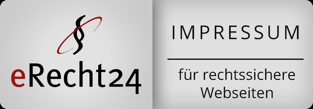 eRecht Impressum Plakette