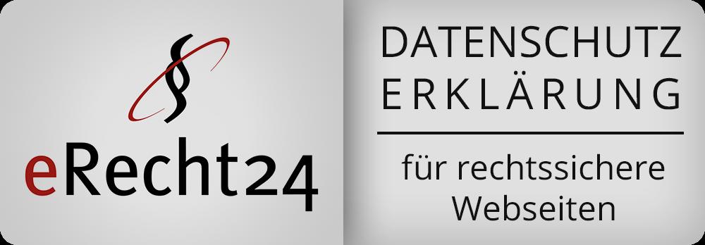 eRecht Datenschutz Plakette